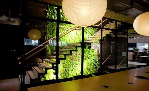 企业植物墙,GOOGLE企业植物墙,google企业植物墙