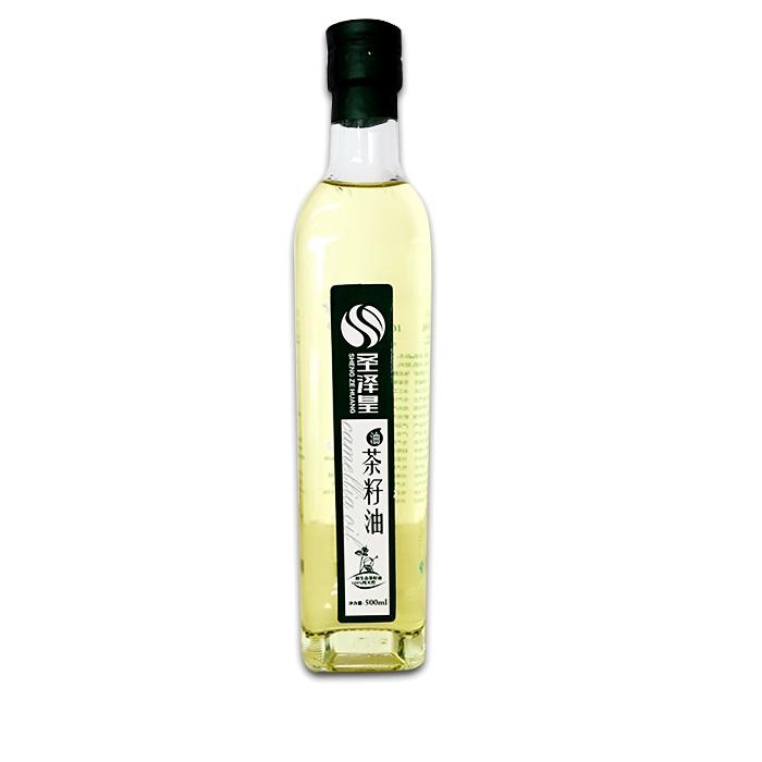 圣泽皇纯天然菜籽油 500ml*2