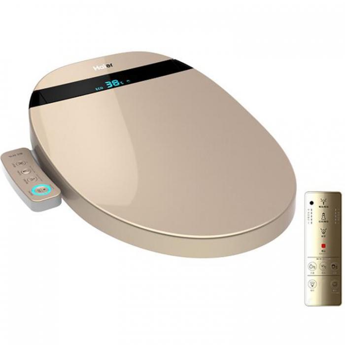 海尔(Haier)卫玺V3-E400智能马桶盖板 洁身器 LED显示 APP 遥控器